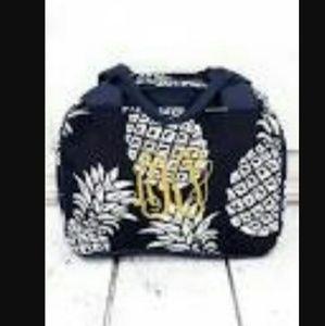 Handbags - New Pineapple Navy Bowler Lunch Bag!